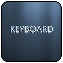 Blue Glass Keyboard Skin icon