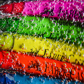 Colors with bubbles by Rakesh Syal - Artistic Objects Education Objects