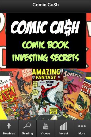 Comic Book Investing Secrets