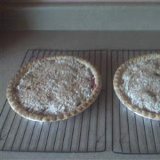Dutch Apple Berry Pie