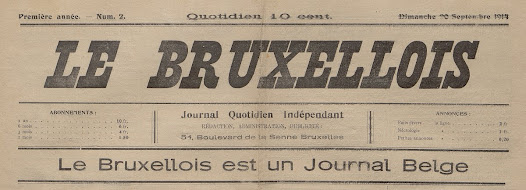 Steps were taken to relaunch journalism in Belgium.  One of the main aims was to gain the trust of the population. The new publications were therefore to be run (or at least seen to be run) by Belgians