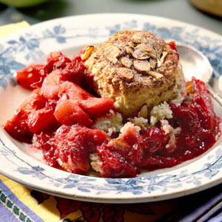 Cranberry-Apple Cobbler with Cinnamon Biscuits