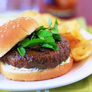 Firecracker Burgers with Cooling Lime Sauce