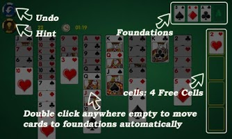 Screenshot of AE FreeCell