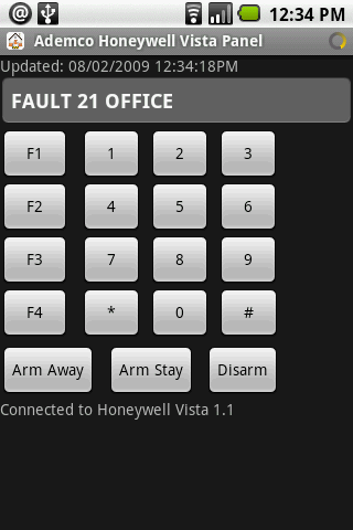 AH Alarm Panel