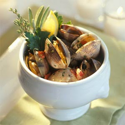 Clams with Prosciutto and Thyme