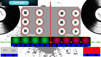 Screenshot of Urban Turntable Mixer