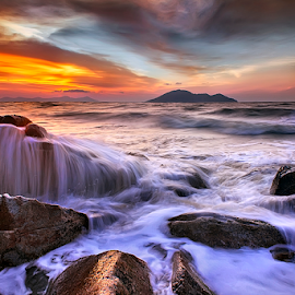 Silky waves by Dany Fachry - Landscapes Beaches