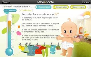 Screenshot of Baby's Health Free