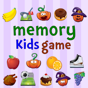 Memory Kids Game Icon