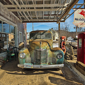 International fuel stop by Bud Schrader - Buildings & Architecture Public & Historical