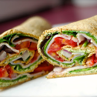 Creamy Pesto Wrap