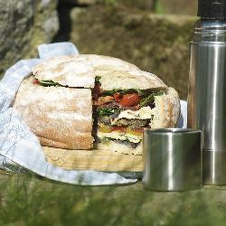 Smoked Antipasto Picnic Bread