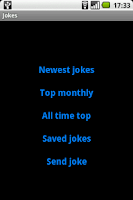 Screenshot of Jokes