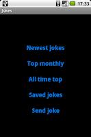 Screenshot of Jokes