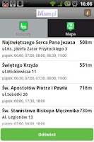 Screenshot of Msze.pl
