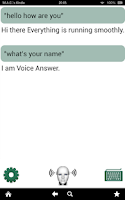 Screenshot of Voice Answer Free