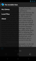 Screenshot of Clever Reader