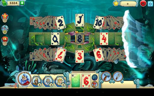 Solitaire Atlantis - screenshot