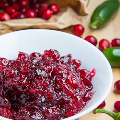 Tequila and Lime Jalapeno Cranberry Sauce