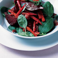 Spiced Beet Salad With Bacon