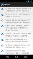 Screenshot of Muslim Adhan and Iqamah Times