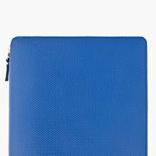 Comme Des Garons Wallets Blue Leather Ipad Case