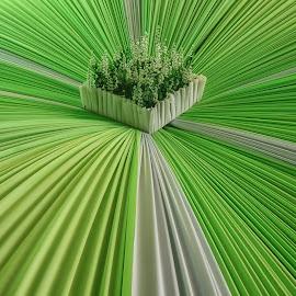 hizo by Tt Sherman - Artistic Objects Other Objects ( green, greenery, object, flip )