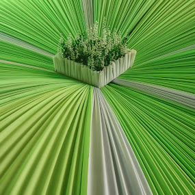 hizo by Tt Sherman - Artistic Objects Other Objects ( green, greenery, object, flip )
