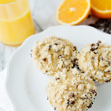 Whole Wheat Orange Chocolate Chip Muffins