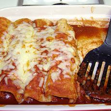 Creamy Chicken Enchiladas