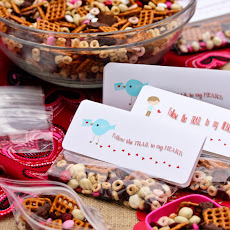 Homemade Trail Mix ~ Valentine Snack
