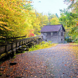 Old Mill by Dick Eigenraam - Buildings & Architecture Public & Historical