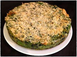 Italian spinach tart
