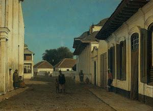 RIJKS: attributed to Jan Weissenbruch: painting 1880