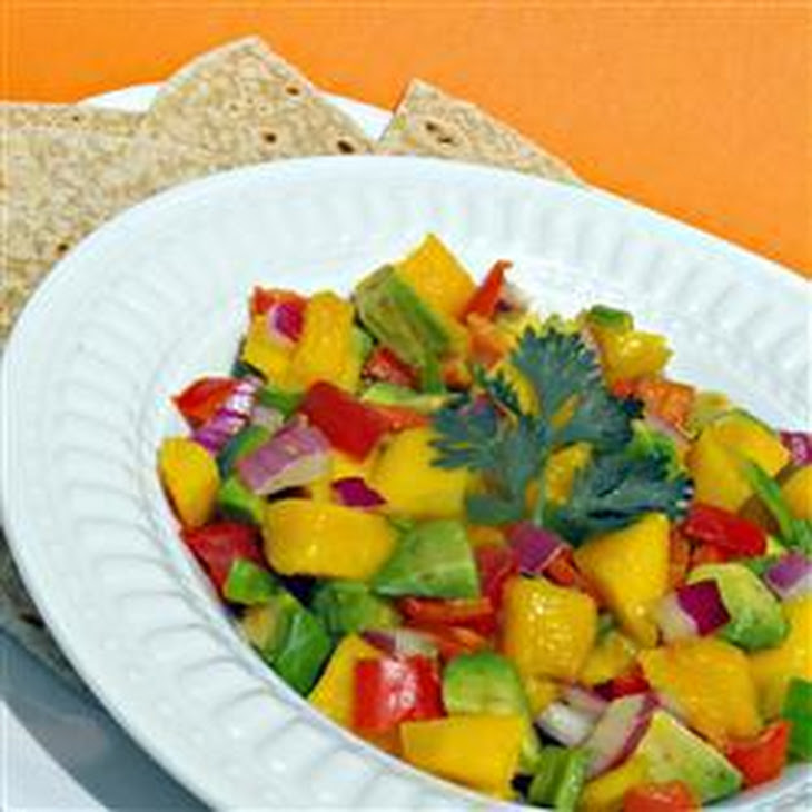 Avocado And Mango Salsa Recipe | Yummly
