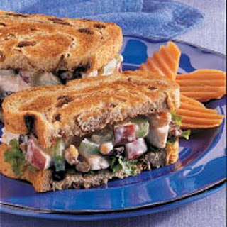 Waldorf Turkey Sandwiches