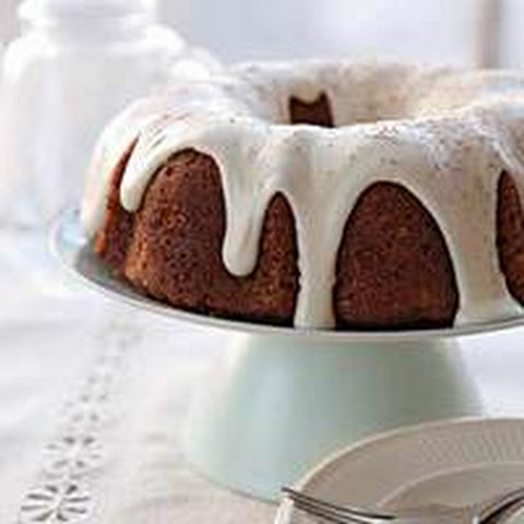Carrot-Pineapple Bundt Cake with Sour Cream Frosting