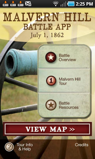 Malvern Hill Battle App