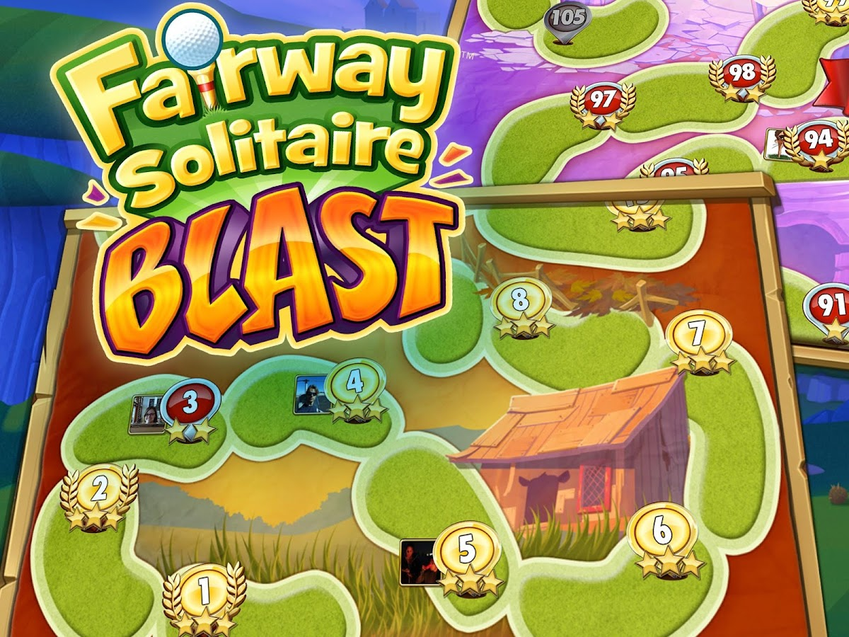 Fairway Solitaire Blast Screenshot 11