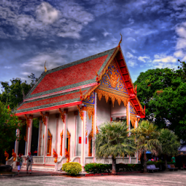 Wat Chalong by Ony Suprastio - Buildings & Architecture Places of Worship