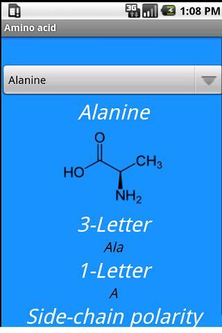 20 Standard Amino Acid