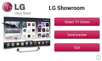 Screenshot of LG Showroom 2012