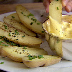 Fingerling Potatoes with Aioli