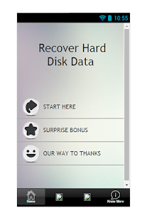 Recover Hard Disk Data Guide - screenshot