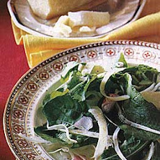 Arugula, Fennel, and Parmesan Salad