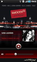 Screenshot of SmoothFM