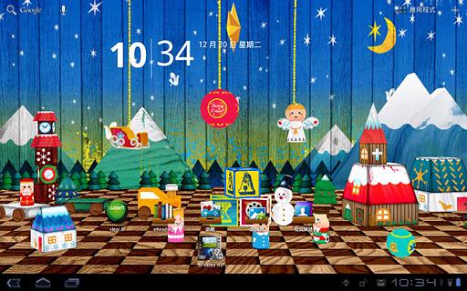 9s-LiveChristmas 慶聖誕 動態桌布