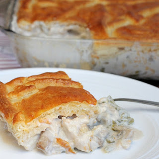 Decadent Chicken Dinner Casserole