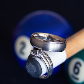 Right on Cue by Kate Gansneder - Wedding Details ( wedding ring, ring, billiards, pool, wedding )